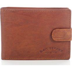Portfele męskie: DARIEL Elegancki skórzany portfel męski Bag Street w pudełku