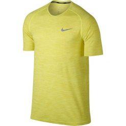 Koszulka do biegania męska NIKE DRI-FIT KNIT TOP SHORT SLEEVE / 833562-358 - NIKE DRI-FIT KNIT TOP SHORT SLEEVE. Żółte t-shirty męskie Nike, m, do biegania, dri-fit (nike). Za 199,00 zł.