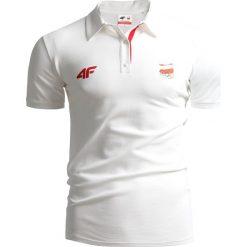 Koszulki polo: Koszulka polo męska Polska Pyeongchang 2018 TSM211 - BIAŁY