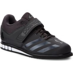 Buty adidas - Powerlift.3.1 BA8019 Utility Black/Core Black/Footwear White. Czarne buty fitness męskie Adidas, z materiału. W wyprzedaży za 309,00 zł.