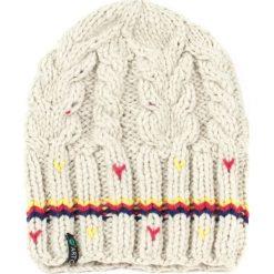 Czapka damska Stripes beżowa. Brązowe czapki zimowe damskie marki Art of Polo. Za 37,60 zł.
