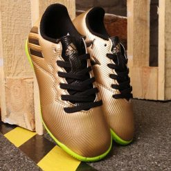 BUTY ADIDAS MESSI 16.4 IN J BA9863. Brązowe buciki niemowlęce marki Adidas. Za 99,00 zł.
