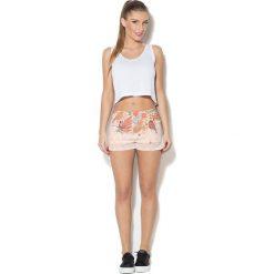 Colour Pleasure Spodnie damskie CP-020 254 beżowe r. XL/XXL. Fioletowe spodnie sportowe damskie marki Colour pleasure, uniwersalny. Za 72,34 zł.