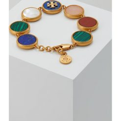 Biżuteria i zegarki: Tory Burch SEMI PRECIOUS MULTI BRACELET Bransoletka multi/vintage goldcoloured