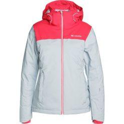 Odzież damska: Columbia SNOW DREAM Kurtka narciarska cirrus grey hthr/punch pink