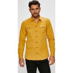 Blend - Koszula. Szare koszule męskie na spinki marki Blend, l, z bawełny, button down, z długim rękawem. Za 219,90 zł.