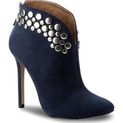 Buty zimowe damskie: Botki KAZAR - Kasandra 30647-03-19 Granatowy