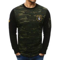 Bluzy męskie: Bluza męska woodland camo (bx2229)