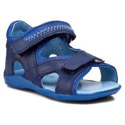 Sandały KORNECKI - 03708 N/Granat/S. Niebieskie sandały męskie skórzane marki Kornecki. Za 129,00 zł.