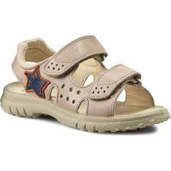 Sandały NATURINO - 5657 0010502024.02.9114 Sabbia. Brązowe sandały męskie skórzane Naturino. W wyprzedaży za 239,00 zł.