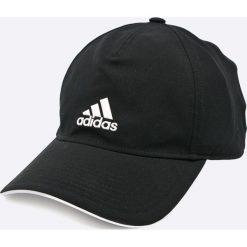Adidas Performance - Czapka. Czarne czapki męskie adidas Performance, z bawełny. W wyprzedaży za 69,90 zł.