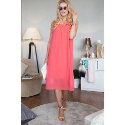 Sukienki: Sukienka koralowa
