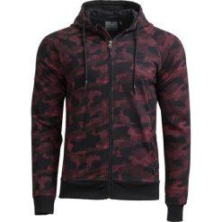 Bluza męska BLM606 - multikolor - Outhorn. Czarne bluzy męskie rozpinane Outhorn, na lato, m, z bawełny. W wyprzedaży za 59,99 zł.