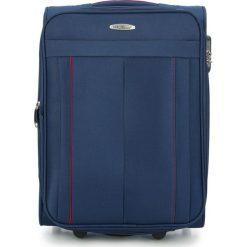 Walizka kabinowa V25-3S-271-90. Niebieskie walizki marki Wittchen, małe. Za 139,00 zł.