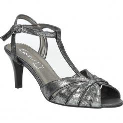 Czarne sandały skórzane t-bar Casu 323. Czarne sandały damskie marki Casu. Za 189,99 zł.