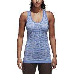 Koszulka do biegania damska ADIDAS ULTRA PRIMEKNIT PARLEY TANK / CF5138. Niebieskie bluzki damskie marki 4f, s. Za 263,00 zł.