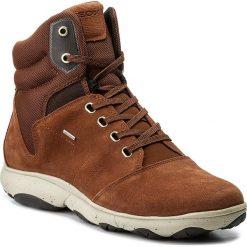 Botki GEOX - D Nebula 4x4 B Abx A D746TA 02214 C0013 Brown. Brązowe buty zimowe damskie Geox, z materiału. W wyprzedaży za 379,00 zł.