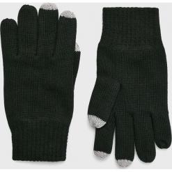 S. Oliver - Rękawiczki. Czarne rękawiczki męskie S.Oliver, z bawełny. W wyprzedaży za 59,90 zł.