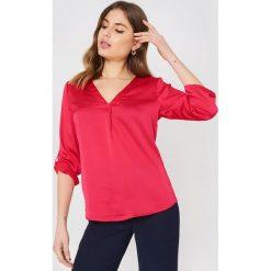 Bluzki damskie: Rut&Circle Bluzka Malin - Pink