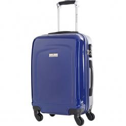 Walizka w kolorze granatowym - 70 l. Niebieskie walizki Platinium, z materiału. W wyprzedaży za 239,95 zł.