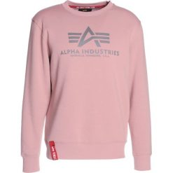 Bejsbolówki męskie: Alpha Industries BASIC SWEATER Bluza silver pink