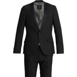 Shelby & Sons GREENROCK TUX SUIT SLIM FIT Garnitur black. Czarne garnitury Shelby & Sons, z elastanu. Za 839,00 zł.