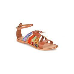 Sandały Lollipops  ZODIAC FLAT SANDAL. Szare sandały damskie marki Lollipops. Za 167,30 zł.