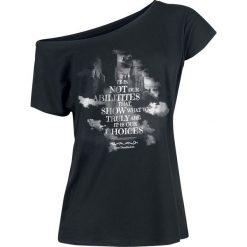 Bluzki asymetryczne: Harry Potter Choices Koszulka damska czarny