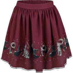 Harry Potter McGonagall Spódnica bordowy. Czerwone spódniczki Harry Potter, s, w koronkowe wzory, z koronki. Za 154,90 zł.