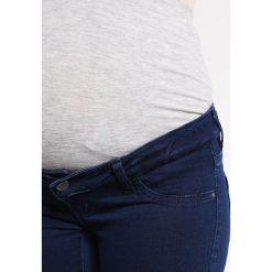 MAMALICIOUS MLELLA  Jeans Skinny Fit dark blue denim. Szare jeansy damskie MAMALICIOUS. Za 209,00 zł.