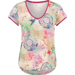 """Koszulka """"Pallavi"""" w kolorze kremowym ze wzorem. Białe t-shirty damskie Hip, xs. W wyprzedaży za 136,95 zł."""