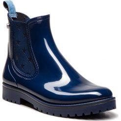 Kalosze TRUSSARDI JEANS - 79A00285 U280. Niebieskie kalosze damskie Trussardi Jeans, z jeansu. W wyprzedaży za 329,00 zł.