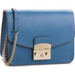 Torebka FURLA - Metropolis 962722 B BNF8 VFO Genziana e. Niebieskie torebki klasyczne damskie Furla, ze skóry. W wyprzedaży za 1079,00 zł.
