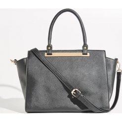 Torba City Bag - Czarny. Czarne torebki klasyczne damskie Sinsay. Za 79,99 zł.