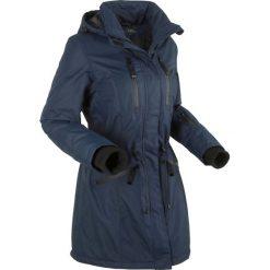 Długa kurtka funkcyjna outdoorowa bonprix ciemnoniebieski. Niebieskie kurtki damskie marki bonprix, s. Za 269,99 zł.