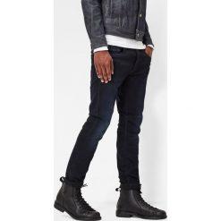 G-Star Raw - Jeansy. Niebieskie jeansy męskie slim marki G-Star RAW, z bawełny. W wyprzedaży za 379,90 zł.