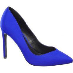 Szpilki damskie Blink niebieskie. Niebieskie szpilki marki Blink, z materiału. Za 139,90 zł.