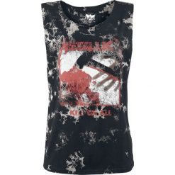 Topy damskie: Metallica EMP Signature Collection Top damski czarny/szary