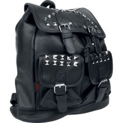 Plecaki damskie: Jawbreaker Black Studded Plecak czarny
