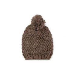 Czapka damska Pani zima brązowa. Czarne czapki zimowe damskie marki BIG STAR, z gumy. Za 28,94 zł.