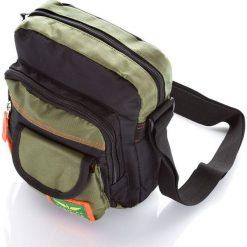 Torba męska saszetka na ramię. Zielone torby na ramię męskie marki Bag Street, moro, z materiału, na ramię. Za 69,00 zł.