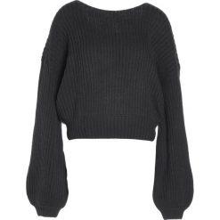 Swetry klasyczne damskie: Ivyrevel CHATTE  Sweter dark grey