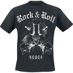 T-shirty męskie: Rock'n'Roll Rebel T-Shirt czarny