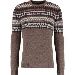 Swetry klasyczne męskie: Benetton Sweter braun