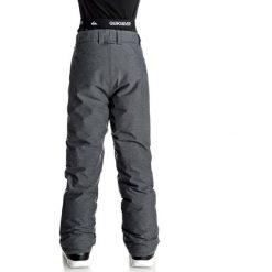 Chinosy chłopięce: Quiksilver BOUNDRY YOUT PT BKBT Spodnie narciarskie black