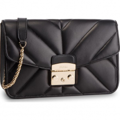Torebka FURLA - Metropolis 993647 B BUT1 2Q0 Onyx. Czarne torebki klasyczne damskie Furla, ze skóry. Za 1815,00 zł.