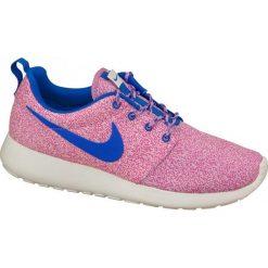 Buty sportowe damskie: Nike Buty damskie Rosherun Print różowe r. 36.5 (599432-137)