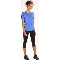 Adidas Performance TEE Tshirt z nadrukiem hirblu. Niebieskie t-shirty damskie adidas Performance, l, z nadrukiem, z elastanu. Za 129,00 zł.