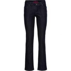 """Dżinsy SLIM bonprix """"raw denim"""". Niebieskie jeansy damskie bonprix, z denimu. Za 44,99 zł."""