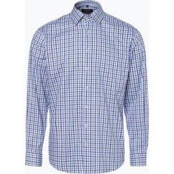 Andrew James - Koszula męska łatwa w prasowaniu, czarny. Czarne koszule męskie na spinki Andrew James, m, z bawełny, z klasycznym kołnierzykiem. Za 129,95 zł.